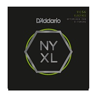 D'ADDARIO NYXL1156 струны для электрогитары, Medium Top / X-Heavy Bottom, 11-56