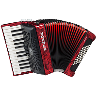 HOHNER The New Bravo II 48 (A16531) red - аккордеон 1/2