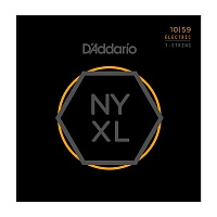 D'ADDARIO NYXL1059 Regular Light, 10-59 Струны для 7-струнной электрогитары