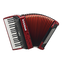 HOHNER The New Bravo III 80 (A16431) red - аккоррдеон 7/8