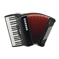 HOHNER The New Bravo III 72 (A16621) black - аккордеон 3/4