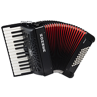 HOHNER The New Bravo II 48 (A16521) black - аккордеон 1/2