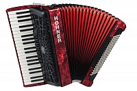 HOHNER The New Bravo III 120 (A16831) red - аккордеон 4/4