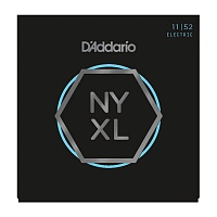 D'ADDARIO NYXL1152 струны для электрогитары, Medium Top / Heavy Bottom, 11-52