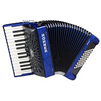 HOHNER The New Bravo II 48 (A16541) dark blue - аккордеон 1/2