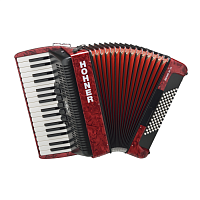 HOHNER The New Bravo III 72 (A16631) red - аккордеон 3/4