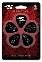 PLANET WAVES 1CBK4-10JS Joe Satriani, Medium Набор медиаторов