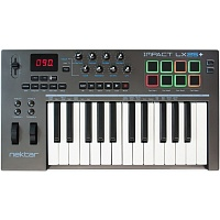 Nektar Impact LX 25+ USB MIDI клавиатура, 25 клавиш, совместимо с Mac/PC/iPad/ПО Bitwig 8-Track