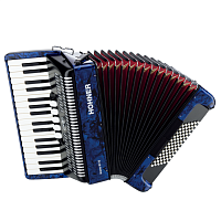 HOHNER The New Bravo III 72 (A16641) dark blue - аккоррдеон 3/4